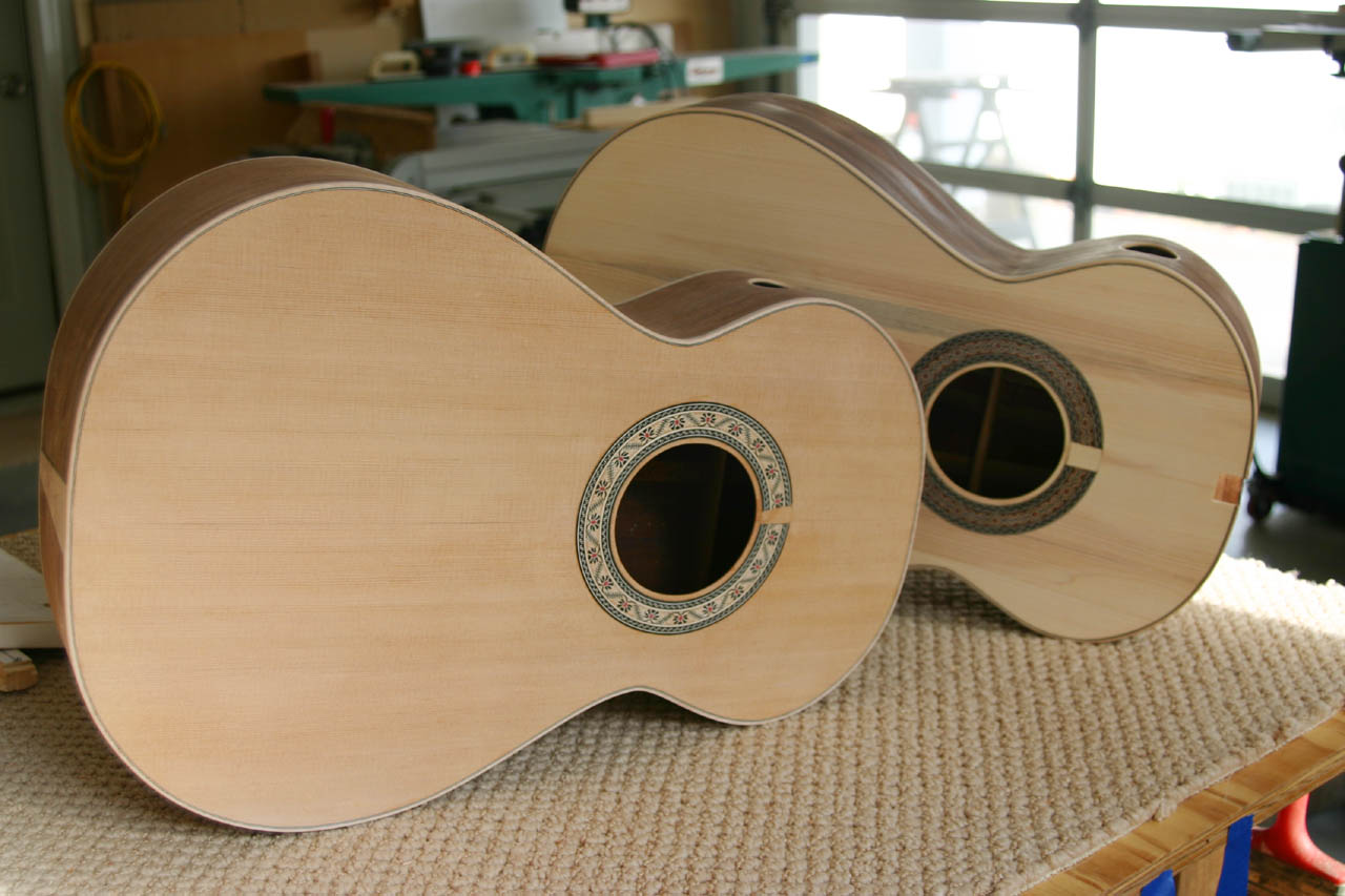 Blackwater River Guitars - Building the Parlor Guitars - Page 1