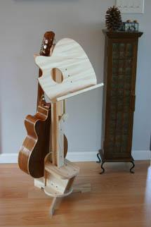 Blackwater River Guitars Combination Music Guitar Stands